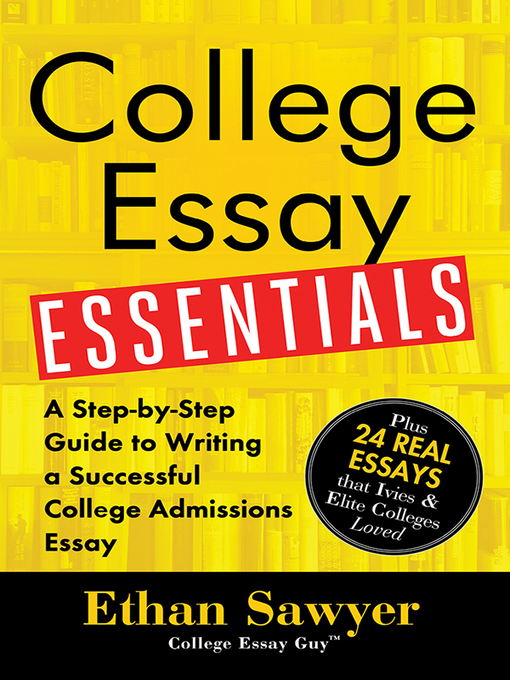 College essay guide writing