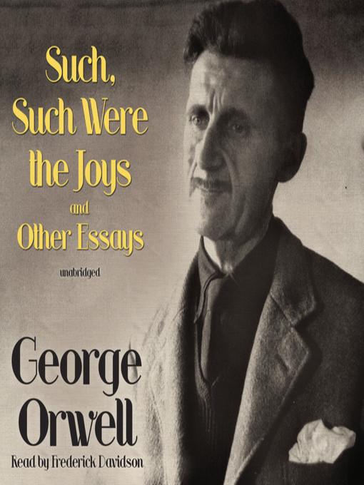 george orwell essay on boarding school