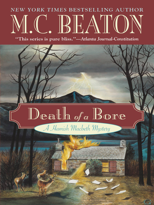 Title details for Death of a Bore by M. C. Beaton - Available