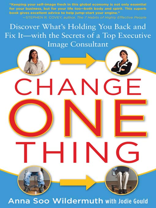 Title details for Change One Thing by Anna Wildermuth - Available