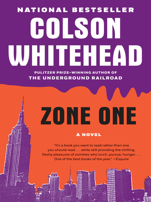 Title details for Zone One by Colson Whitehead - Wait list