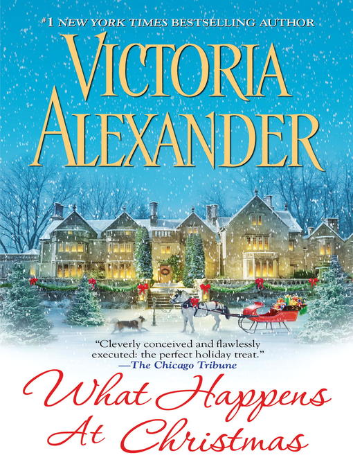 Title details for What Happens at Christmas by Victoria Alexander - Wait list