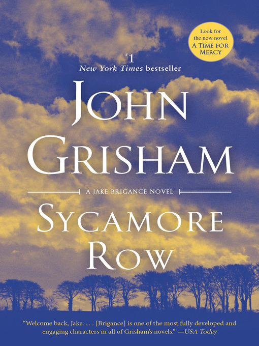 Title details for Sycamore Row by John Grisham - Available