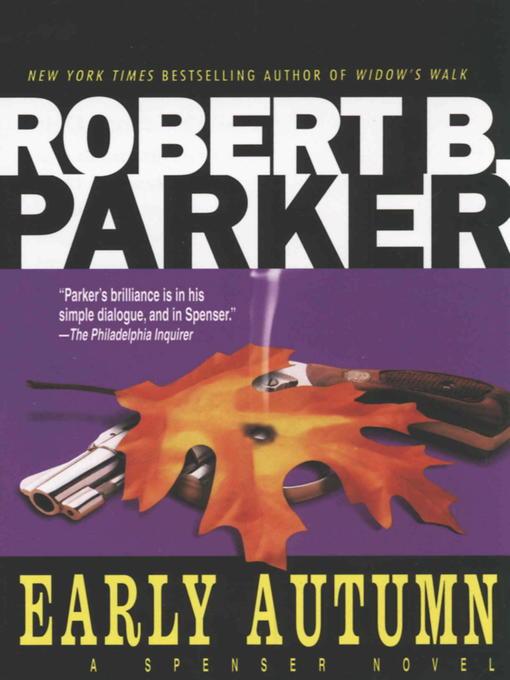 Title details for Early Autumn by Robert B. Parker - Wait list