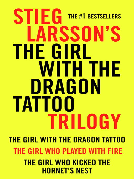 Title details for The Girl With the Dragon Tattoo Trilogy Bundle by Stieg Larsson - Wait list