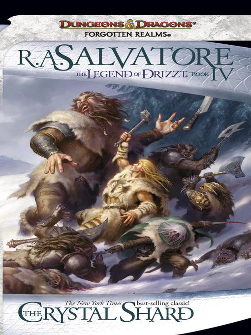 Title details for The Crystal Shard by R.A. Salvatore - Available