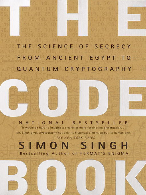 Title details for The Code Book by Simon Singh - Wait list