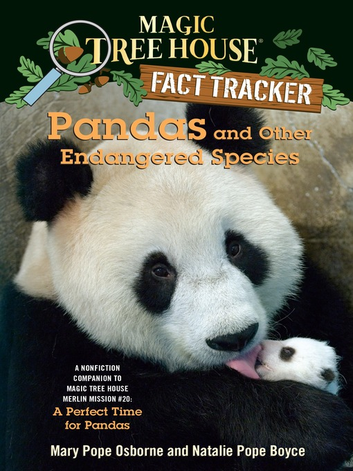 Title details for Pandas and Other Endangered Species by Mary Pope Osborne - Available