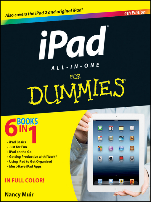 Title details for iPad All-in-One For Dummies by Nancy C. Muir - Available