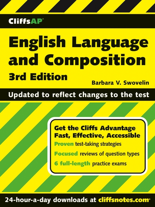Title details for CliffsAP English Language and Composition by Barbara V. Swovelin - Available