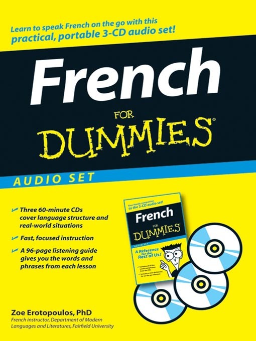 Title details for French For Dummies by Zoe Erotopoulos, Ph.D. - Wait list
