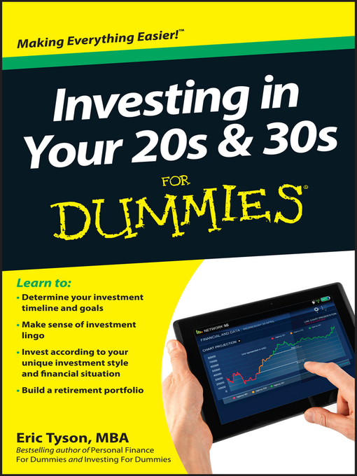 Title details for Investing in Your 20s & 30s For Dummies by Eric Tyson - Available