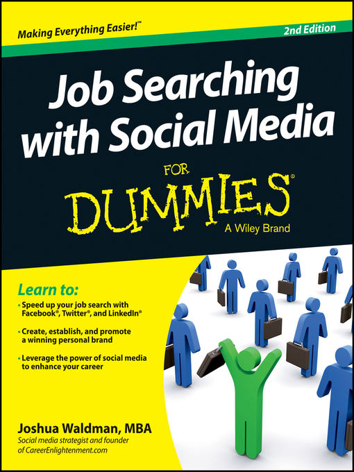 Title details for Job Searching with Social Media For Dummies by Joshua Waldman - Available