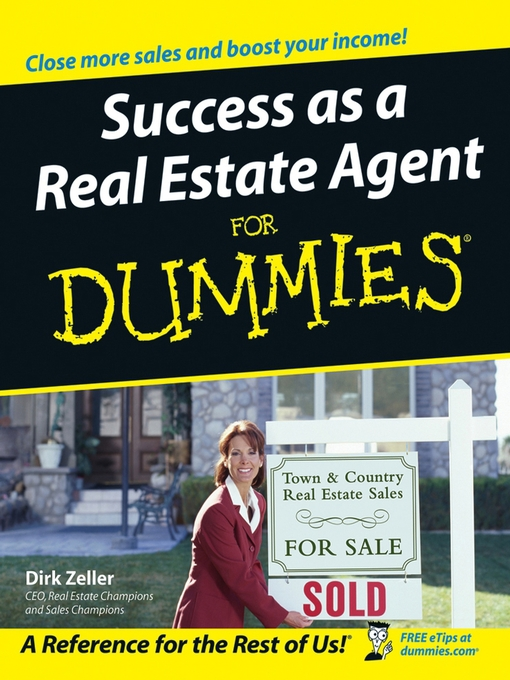 Title details for Success as a Real Estate Agent For Dummies by Dirk Zeller - Available