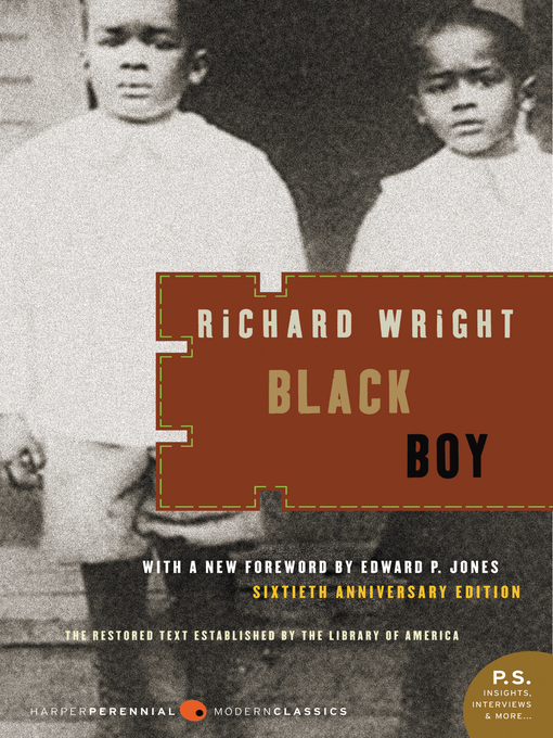 Title details for Black Boy by Richard Wright - Wait list