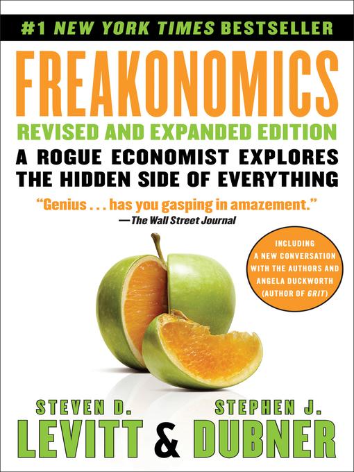 Title details for Freakonomics by Steven D. Levitt - Available