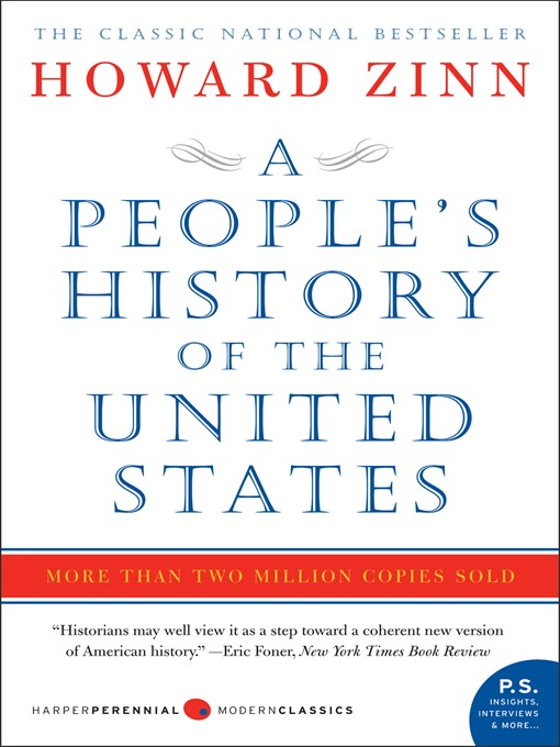 Title details for A People's History of the United States by Howard Zinn - Wait list