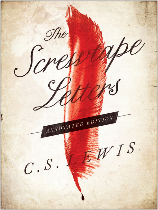 Title details for The Screwtape Letters by C. S. Lewis - Wait list