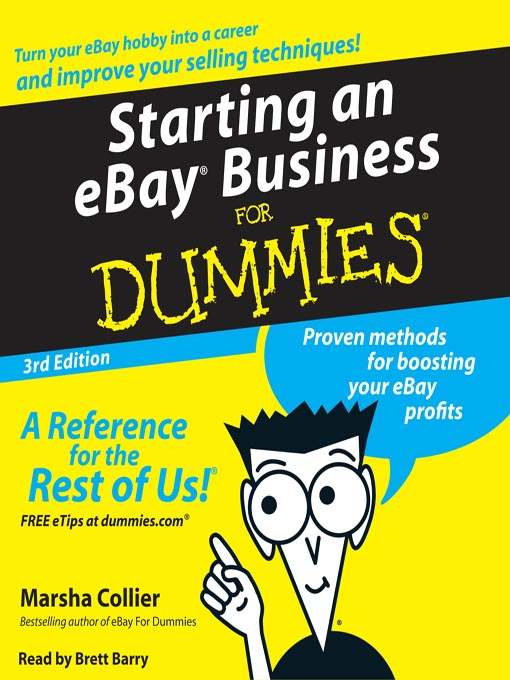 Title details for Starting an E-Bay Business for Dummies by Marsha Collier - Available