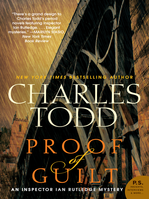 Title details for Proof of Guilt by Charles Todd - Available