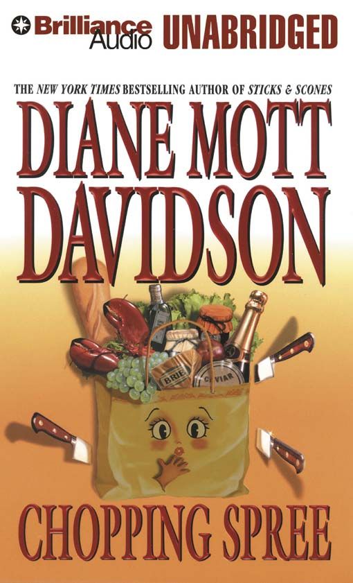 Title details for Chopping Spree by Diane Mott Davidson - Wait list