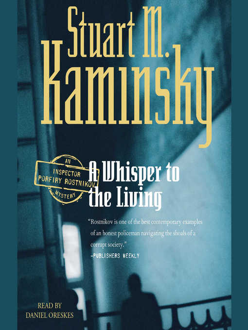 Title details for A Whisper to the Living by Stuart M. Kaminsky - Wait list