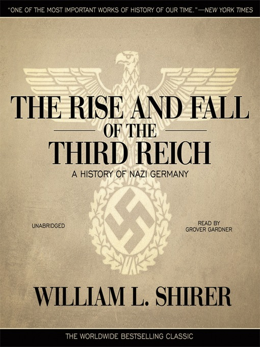 Title details for The Rise and Fall of the Third Reich by William L. Shirer - Wait list