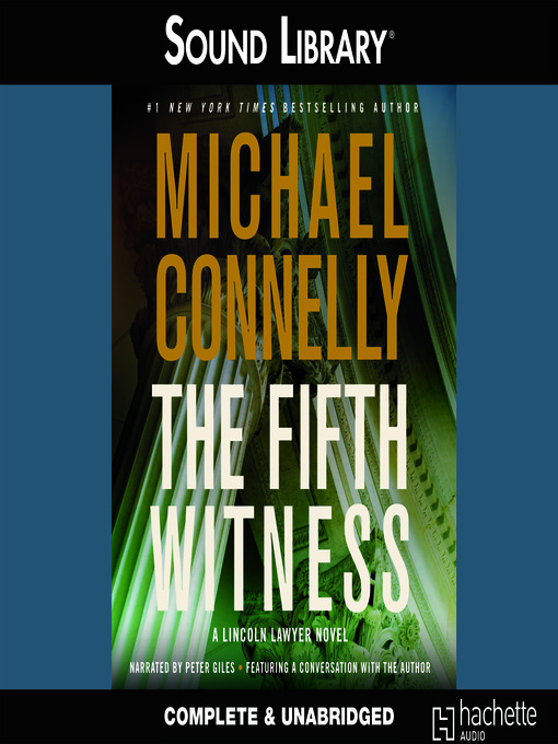 Title details for The Fifth Witness by Michael Connelly - Wait list