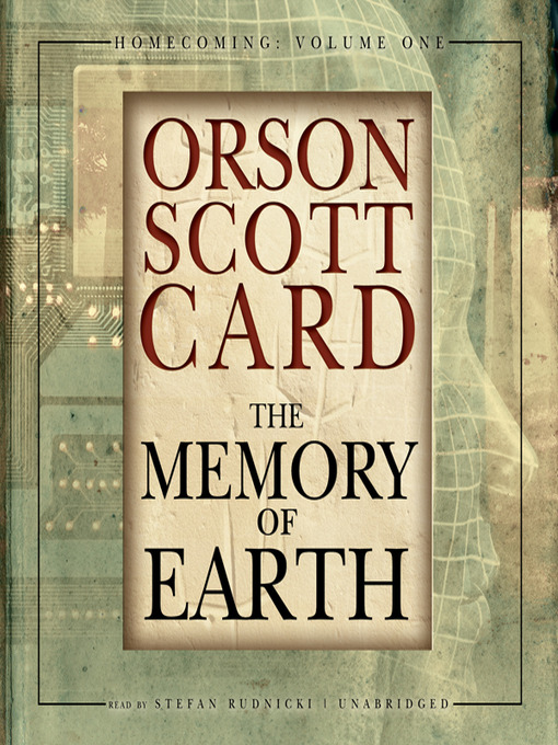 Title details for The Memory of Earth by Orson Scott Card - Wait list