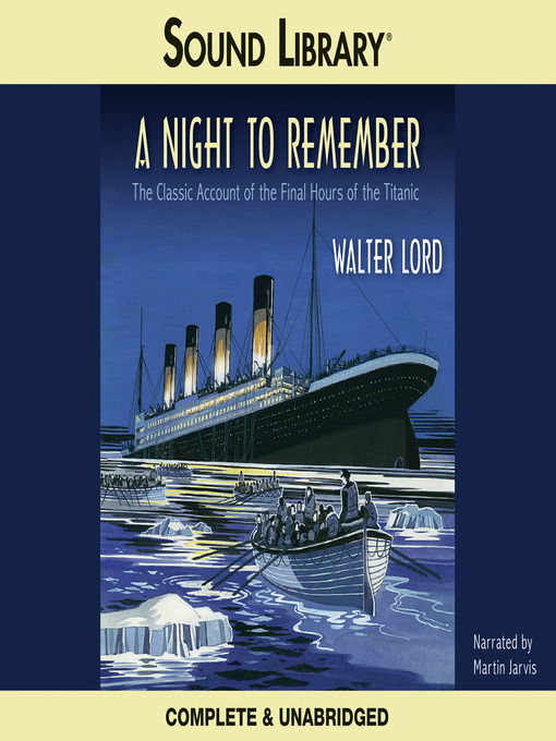 Title details for A Night to Remember by Walter Lord - Wait list