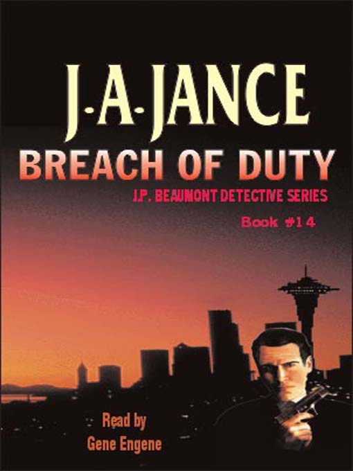 Title details for Breach of Duty by J. A. Jance - Wait list