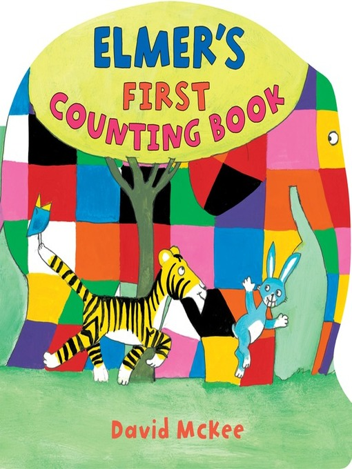 Title details for Elmer's First Counting Book by David McKee - Available