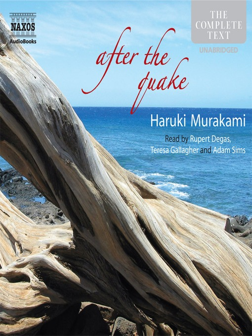 Title details for After The Quake by Haruki Murakami - Available