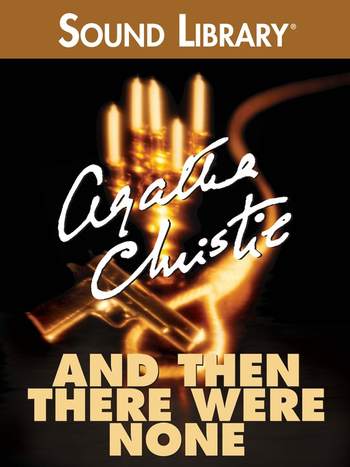 Title details for And Then There Were None by Agatha Christie - Wait list