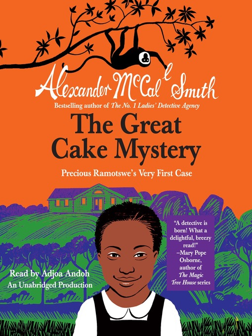 Title details for The Great Cake Mystery by Alexander McCall Smith - Available