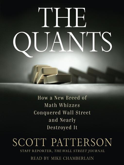 Title details for The Quants by Scott Patterson - Wait list