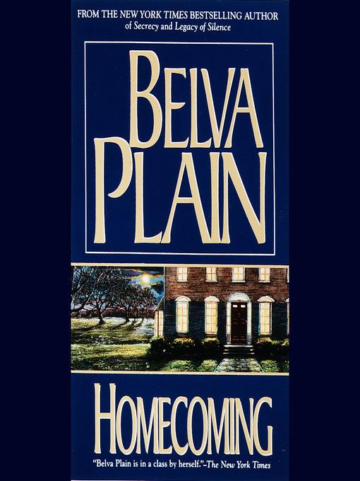 Title details for Homecoming by Belva Plain - Wait list