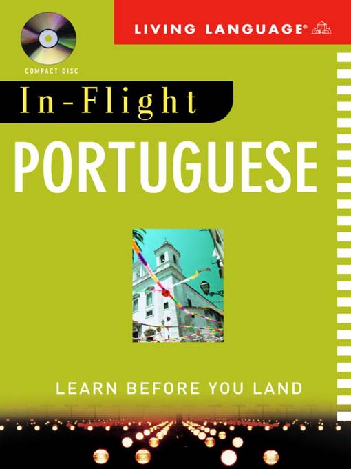 Title details for In-Flight Portuguese by Living Language - Wait list