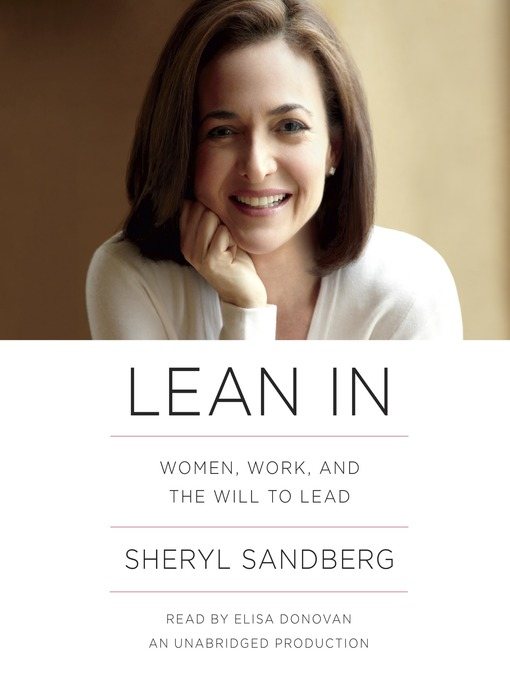 Title details for Lean In by Sheryl Sandberg - Available