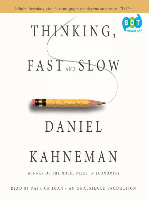 Title details for Thinking, Fast and Slow by Daniel Kahneman - Wait list