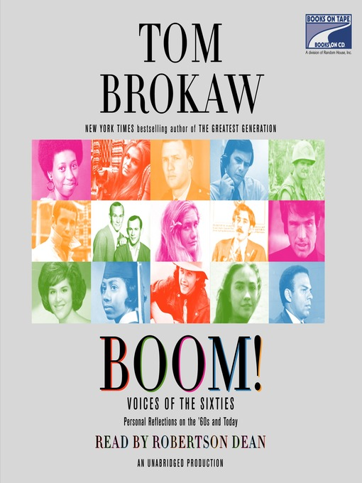 Title details for Boom! by Tom Brokaw - Wait list