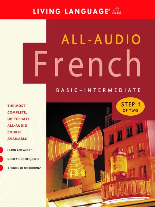 Title details for All-Audio French Step 1 by Living Language - Available