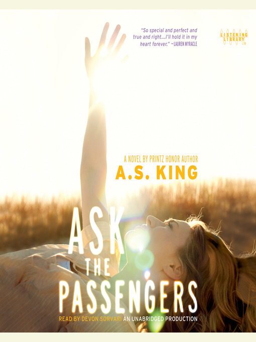 Title details for Ask the Passengers by A.S. King - Wait list