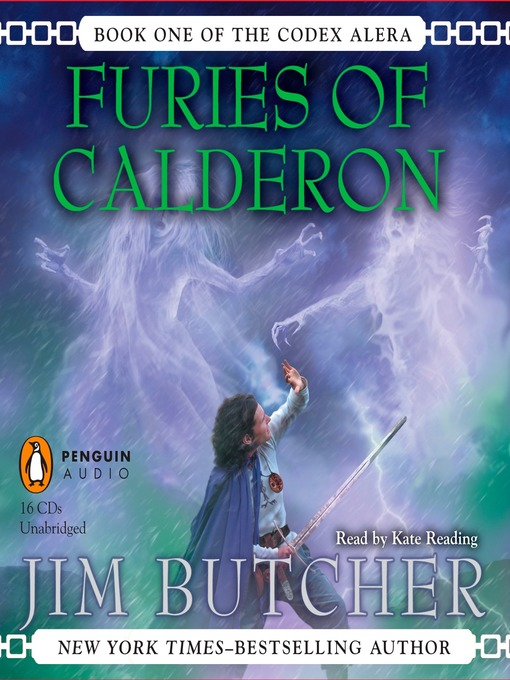 Title details for Furies of Calderon by Jim Butcher - Available