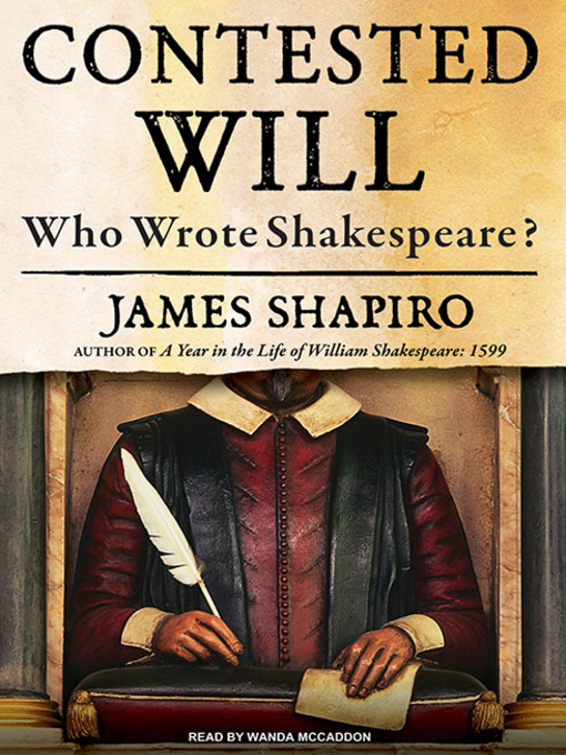 Title details for Contested Will by James Shapiro - Available