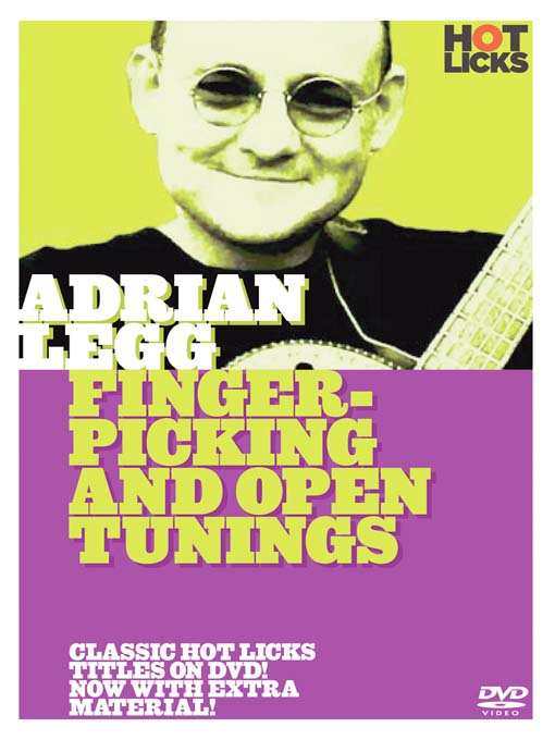 Title details for Adrian Legg: Fingerpicking and Open Tunings by Hot Licks - Wait list