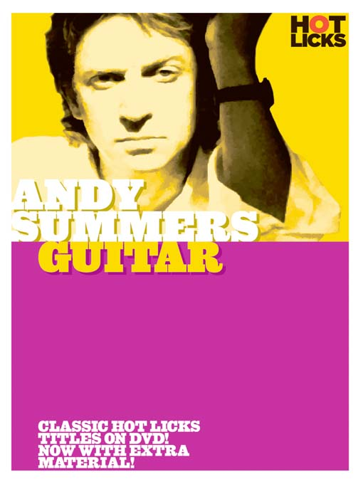 Title details for Andy Summers: Guitar by Hot Licks - Wait list
