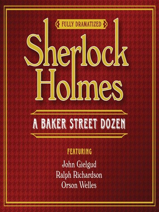 Title details for Sherlock Holmes by Sir Arthur Conan Doyle - Wait list