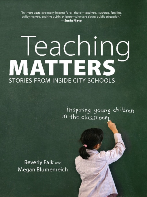 Title details for Teaching Matters by Beverly  Falk - Available