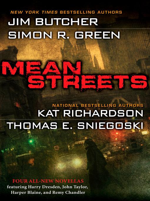 Title details for Mean Streets by Jim Butcher - Wait list